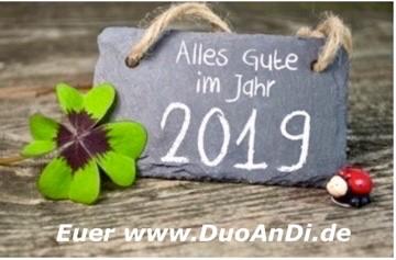 Wir wünschen Allen einen Guten Rutsch ins Jahr 2019